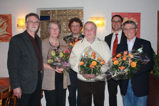 M. Gerhardt, R. Wolny, D. Jovanovic, F. Guarracino, S. Batol und D. Ruffert (Bild: Anita Ruprecht)